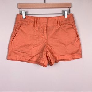 Ann Taylor Loft orange shorts